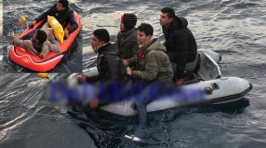 """انقاذ قاصرين مغاربة حاولوا الوصول الى اسبانيا في """"قوارب اللعب"""""""