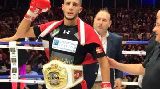 ابن الريف يوسف اسويق يتوج بطلا للعالم في رياضة الكيك بوكسينج