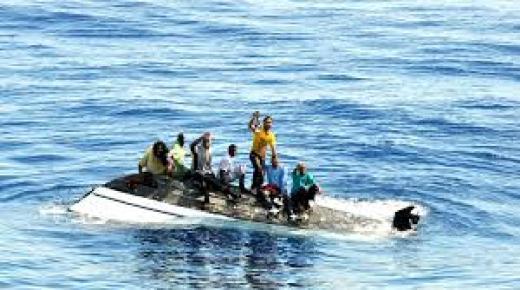 الحرس المدني الإسباني ينقذ خمس مهاجرين قادمين من الريف