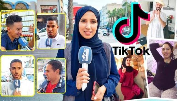 """المغاربة وعلاقتهم ب منصة """"تيك توك"""".. شاهد آراء الناظوريين حول محتوى """"التيك توك المغربي"""""""