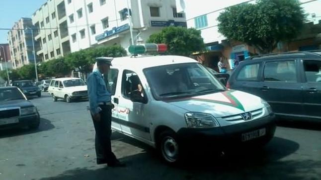 تحرش ودهس يجمعان شرطيا وامرأة بأزغنغان