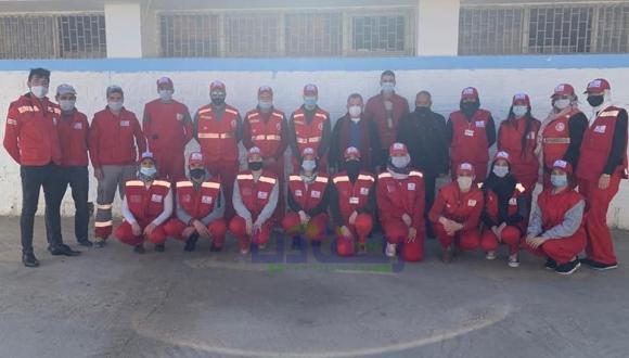 الهلال الأحمر المغربي فرع الناظور في زيارة تواصل ببن طيب (+صور)