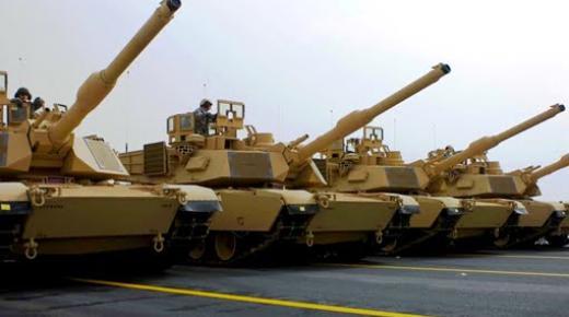 الحكومة الأمريكية توافق على بيع 162 دبابة للمغرب بقيمة تقدر بـ1259 مليون دولار
