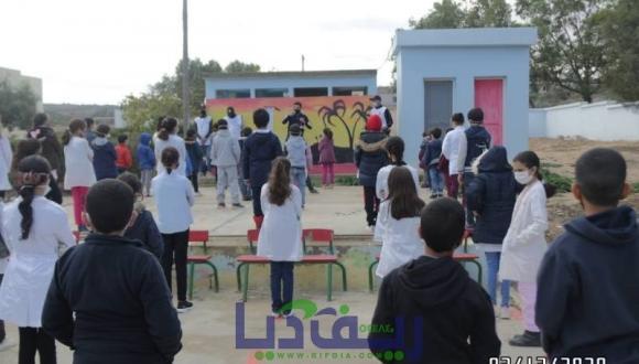 حملة تحسيسية بمخاطر كورونا لفائدة التلاميذ من مبادرات جمعية الإسعافات الأولية والاغاثة(+صور)