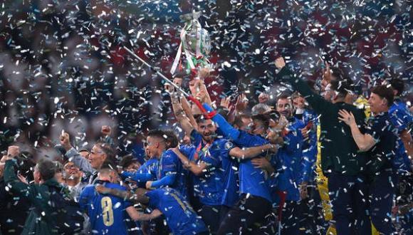 إيطاليا تهزم إنجلترا بركلات الترجيح وتحرز لقب كأس أوروبا (فيديو)
