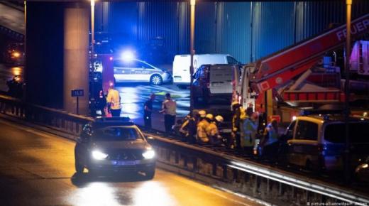 شاحنة تدهس مارة شرقي ألمانيا والشرطة تحقق في الدوافع