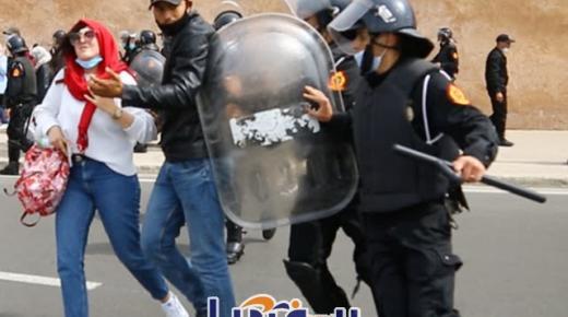 نقابة الصحافة تدعو لتنبيه القوات العمومية لاحترام عمل الصحافيين خلال فض الاحتجاجات