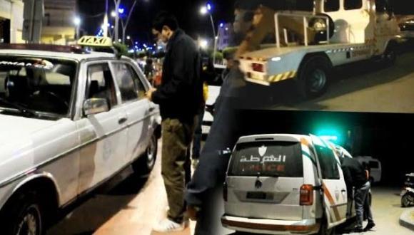 استنفار السلطات و المنطقة الأمنية بالناظور في اليوم الخامس من حظر التجوال الليلي (+فيديو و صور)