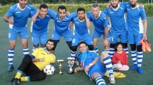 فريق يضم مهاجرين ريفيين بالسويد يفوز بدوري محلي بستوكهولم (صور)