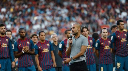 وكيل غوارديولا يحسم موقف المدرب الإسباني من العودة لتدريب برشلونة