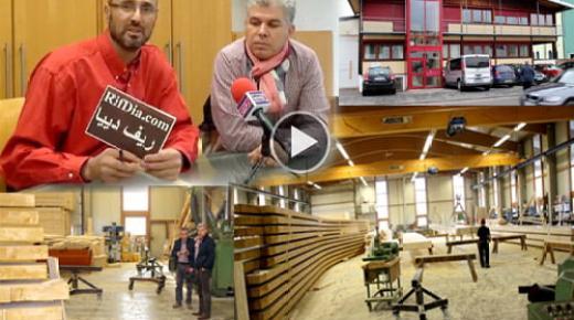 """برنامج """"مغاربة المانيا"""" يستضيف """"حسن أنو"""" صاحب أكبر مقاولة لصناعة جميع أنواع الخشب بألمانيا (فيديو)"""