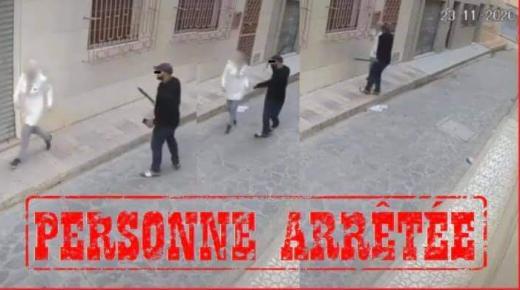 """القبض على صاحب فيديو""""لكريساج"""" بالناظور بعد تفاعل السلطات الامنية"""
