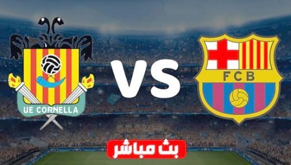 شاهد بالبث المباشر.. مباراة برشلونة وكورنيلا في كأس الملك