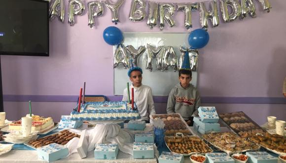 +صور: جمعية ايمن للتوحد تحتفل بعيد ميلاد احد اطفالها