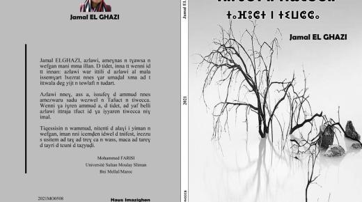 """""""ثافوكت نتيوشا"""":ديوان شعري جديد للفنان جمال الغازي"""