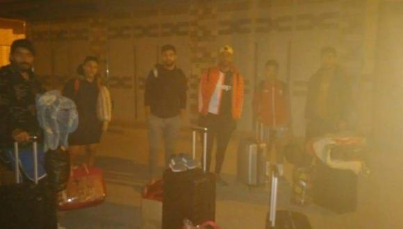 اللجنة المؤقتة لتسيير الهلال تطرد لاعبين من مسكن ليلة القدر(+صور)