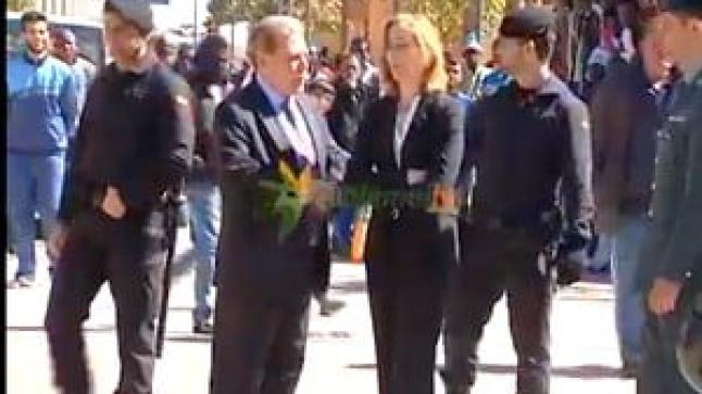وزير الداخلية الإسباني يتفقد أوضاع المهاجرين الأفارقة بمليلية