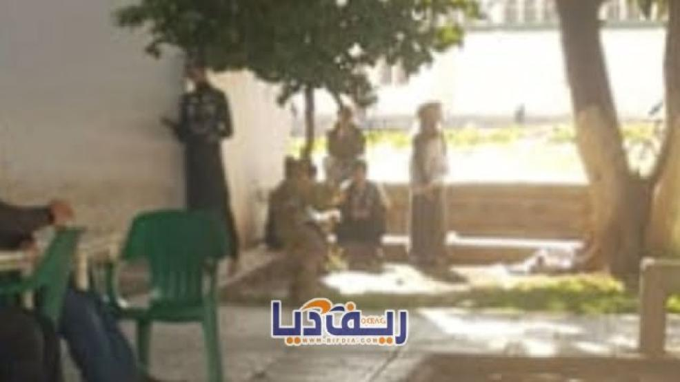 مجددا: گريساج و فساد و سلب ممتلكات المارة بالقرب من المنطقة الأمنية بالناظور