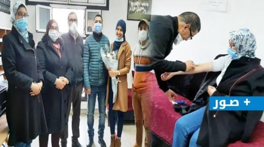 أسرة التعليم بالناظور تُكرم أطر الصحة نظير جهودها في محاربة جائحة كورونا