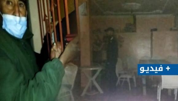 ليلة ساخنة بأزغنغان.. كرّ و فرّ و مداهمة مقهى ليلي (+فيديو)