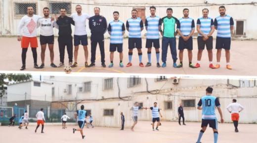 دوري رمضان لكرة القدم يجمع أطر وموظفي القطاعين العام والخاص بالناظور (فيديو وصور)