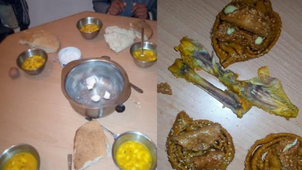 وجبة إفطار هزيلة لتلاميذ إعدادية تثير غضب رواد الفيس بوك