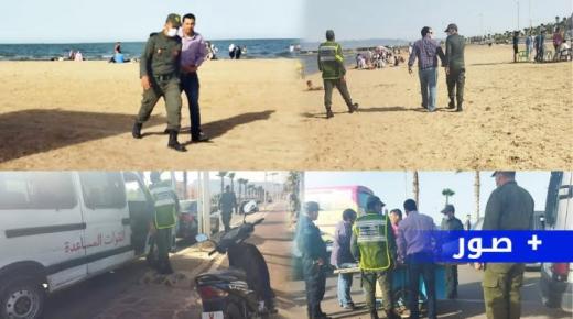 حملات تحرير الملك العمومي تجتاح الشاطئ الاصطناعي بكورنيش الناظور (صور)