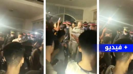 بالفيديو.. اعتقال رئيس جماعة و فرار آخر في جنح الظلام بالدريوش
