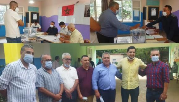 شاهد الآن: عملية الاقتراع لانتخاب مجلس اقليم الناظور