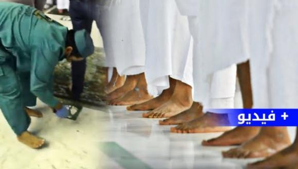 """""""تراصوا وسدوا الخلل"""".. أول صلاة بلا تباعد في المسجد الحرام منذ عام ونصف (فيديو وصور)"""