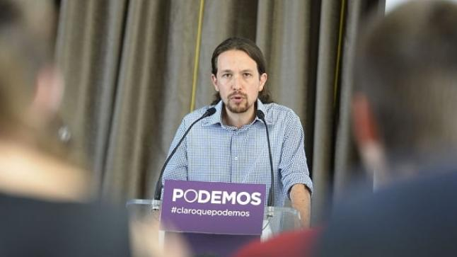 رغم تبنيه إديولوجية اليسار الراديكالي، بوديموس يعتبر مليلية وسبتة أرضا اسبانية