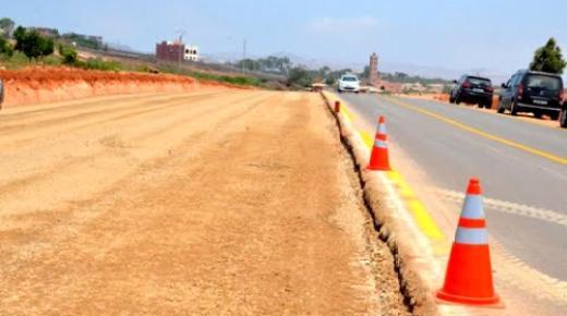 مشروع لتثنية الطريق الوطنية رقم 2 بين العروي والدريوش