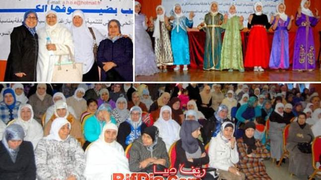 أمسية دينية مميزة للنساء من تنظيم جمعية الحي العمالي للتنمية والبيئة بأزغنغان