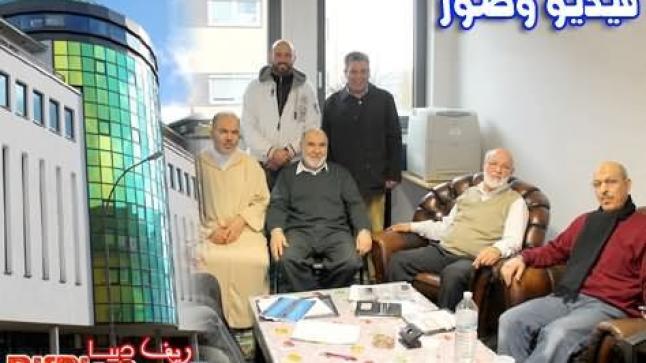 لقاء مع رئيس الجمعية المغربية للثقافة والإرشاد – مسجد التقوى بفرانكفورت