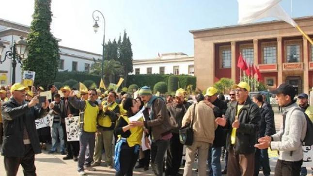 """""""كدش"""" تصعد تجاه حكومة العثماني وتعتصم أمام البرلمان في ذكرى 20 فبراير"""