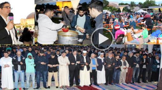 ربورطاج: إفطار جماعي لغير المسلمين للتعريف بقيم الإسلام بمدينة دارمشتات الألمانية