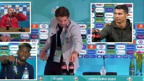 """نجم المنتخب الإيطالي يكرر واقعة رونالدو وبوغبا.. و""""اليويفا"""" يصدر قرارا صارما (فيديو)"""