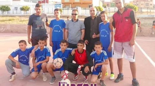 دوري ابطال الحي 2015 بالمركب السوسيوتربوي فرخانة ينتهي بفوز فريق اكسكاكسن على فريق مولاي بوشتة