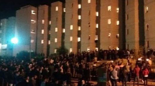 قنينة غاز تتسبب في حريق خطير بالحي الجامعي بوجدة وسط حديث عن اختناقات بالجملة