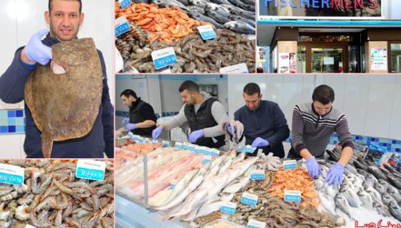 المانيا: Fischer men's الرائد في بيع مختلف أنواع الأسماك الطرية بمدينة هاناو (شاهدوا الصور)