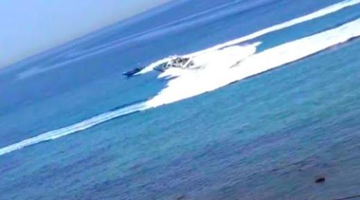 دورية اسبانية تفشل في اعتراض زورق محمل بالحشيش قرب سبتة (فيديو)