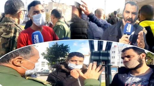 الآن: ساكنة حي ابوعجاجن بالناظور في مسيرة احتجاجية مشيا على الأقدام نحو المجلس الجماعي مطالبين برفع الحيف (فيديو)