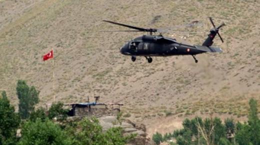 بالفيديو: مقتل 9 عسكريين أتراك في سقوط مروحية