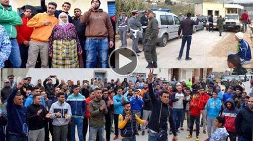 استئناف الاحتجاجات للمطالبة بفتح معبر ماريواري المؤدي الى مليلية (فيديو وصور)