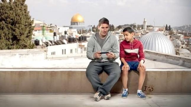 ميسي يخرج عن صمته و يعلن تضامنه مع أطفال غزة