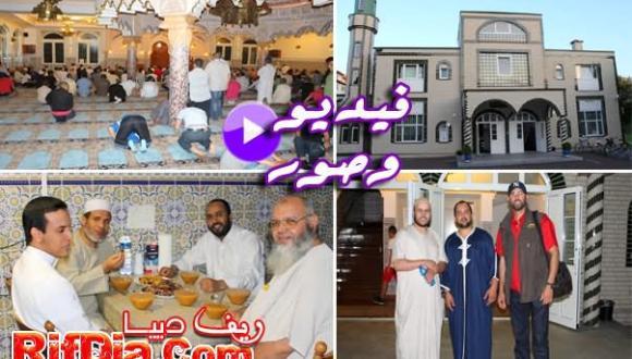 مسجد أبو بكر بفرانكفورت.. أجواء روحانية في ليالي رمضان