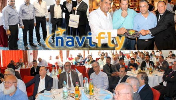 المانيا : حفل افتتاح شركة NaviFly للسفر والسياحة وفقاً لأحدث المعايير العالمية في تكنولوجيا الحجز الإلكتروني