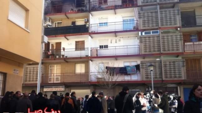 وفاة أربعة اشقاء مغاربة ضواحي تراغونا الاسبانية في حريق شب بمنزلهم