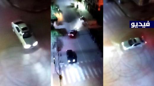 فيديو خاص: امتعاض شديد من ظاهرة التفحيط بالسيارات وازعاج الساكنة وسط الناظور في عز الحظر الليلي