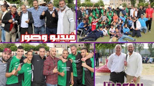 المانيا: فريق جمعية طارق بن زياد بفرانكفورت يبصم على نتائج جد إيجابية ويحقق الصعود